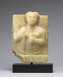 Una sacerdotisa de Saba, que intercede con la diosa del sol.
