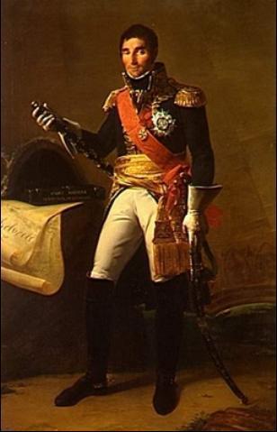"""Andres Massena, Mariscal de Francia, iniciado en 1784 en la logia """"La Asociación de Estudiantes de Minerva"""" de Toulon y Grande Maestre del Gran Oriente de Francia"""