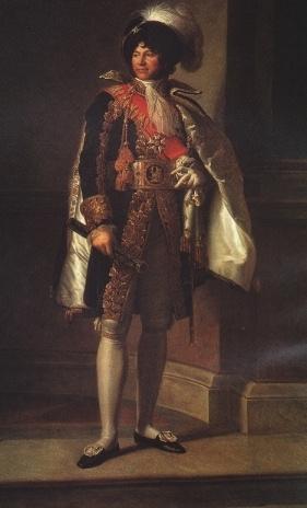 """Joaquin Murat, miembro de la logia """"Napoleón"""" de París, designado por Napoleón Rey de Napoles, Murat ordenó la unificación del Gran Oriente de Nápoles y el Supremo Consejo bajo su Maestría"""