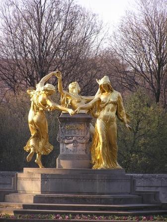 Monumento a Mozart en Dresde