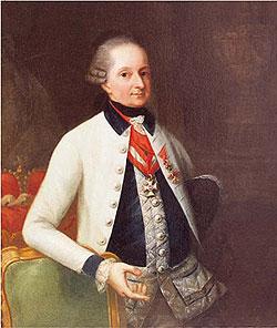 """El príncipe Nikolaus Esterhzy (1714-1790)Venerable Maestro de la Logia vienesa """"La Esperanza Coronada"""""""