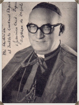 Franjo Šeper (1905-1981) cardenal de origen croata de laIglesia Católica y Prefectode laCongregación para la Doctrina de la Fe