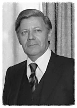 Helmut Schmidt, en una imagen de 1975. Como Canciller de Alemania, promovió junto a su colega francés avanzar hacia la unión política de Europa.