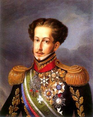 Pedro I, primogénito del rey Juan VI de Portugal, emperador del Brasil y rey de Portugal, iniciado el 5 de agosto de 1822, fue instalado Gran Maestro del Gran Oriente de Brasil el 5 de octubre de 1822