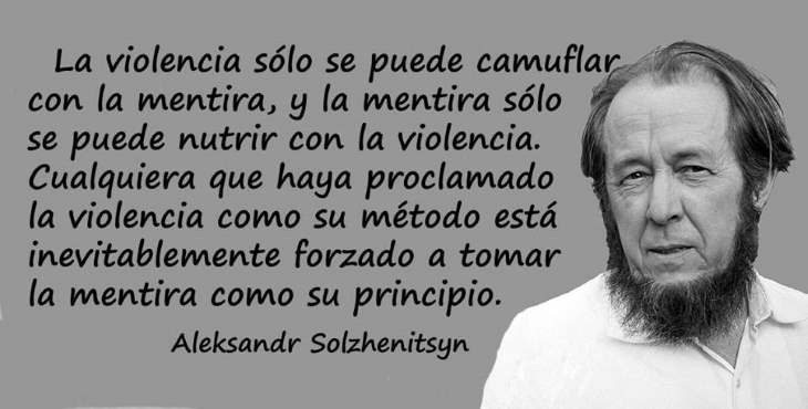 Premio Nobel de Literatura para el escritor ruso Aleksandr Solzhenitsyn