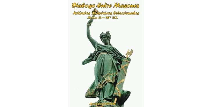 Revista Diálogo entre Masones julio 2016