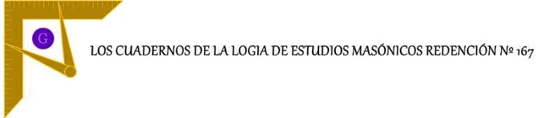 """Edición nº 4 de los """"Cuadernos de la Logia Redención nº 167"""""""