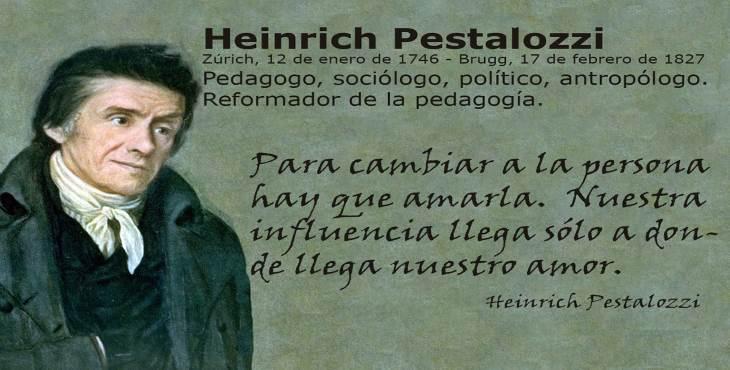 Efemérides: Heinrich Pestalozzi - Diario Masónico