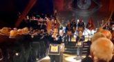 Apoteósico final de la ceremonia del 300 aniversario de la masonería en Londres