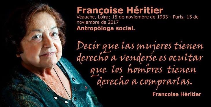 Efemérides: Françoise Héritier, sucesora de Levi-Strauss