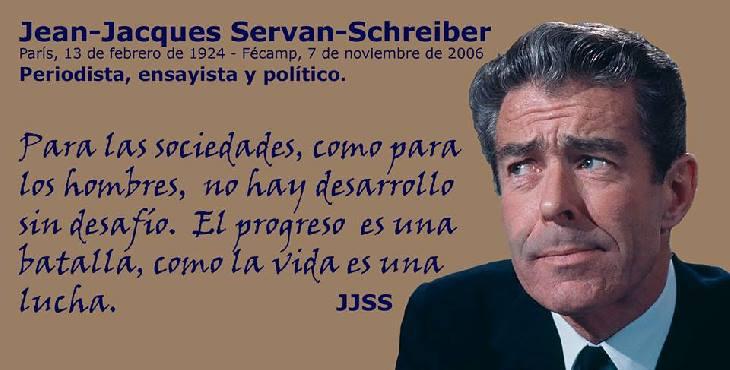 "Efemérides: Jean-Jacques Servan-Schreiber, fundador de ""L'Express"""