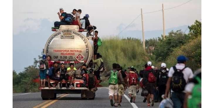 """""""La caravana huye de la miseria y de los horrores de los que EE.UU. es responsable"""""""