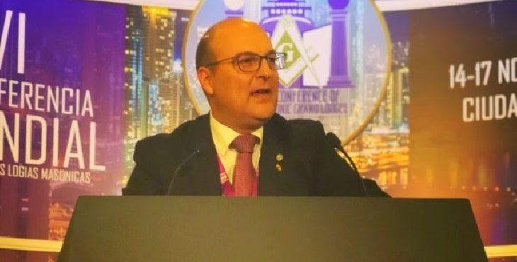 Óscar de Alfonso nombrado Secretario Ejecutivo de la Conferencia Mundial de Grandes Logias Regulares