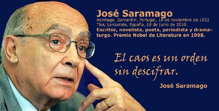 Efemérides: José Saramago, premio Nobel de literatura
