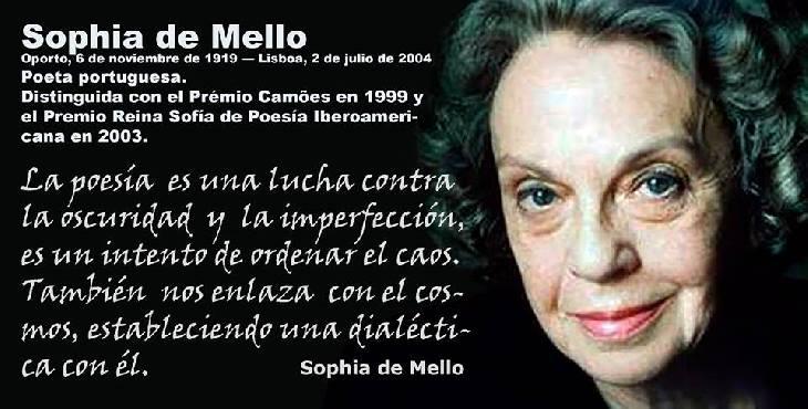 Efemérides: Sophia de Mello, poetisa y traductora portuguesa