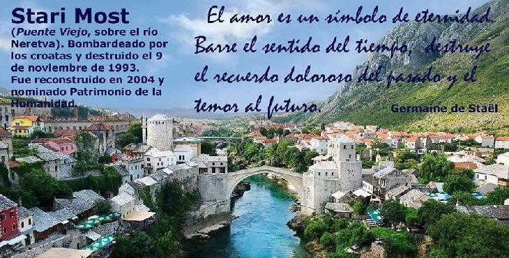 Efemérides: Puente Stari Most, símbolo de la paz en los balcanes