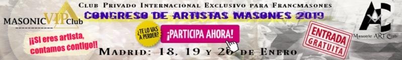 1er. Congreso de Artistas Masones 2019