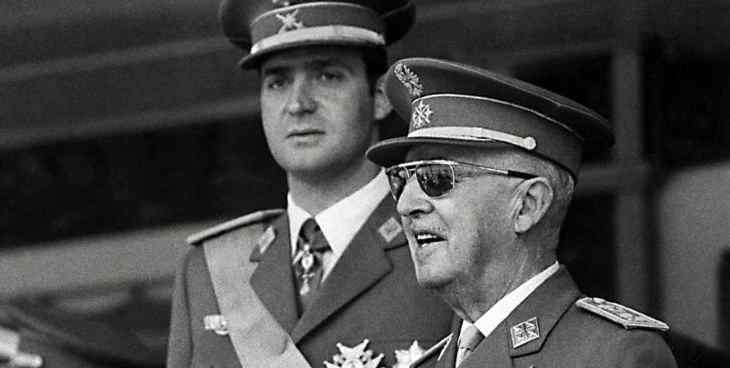 juan carlos I y franco antimasones