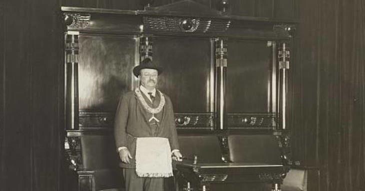 Theodore_Roosevelt_diario_masonico