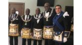El Gran Maestro africano de la Gran Logia de Benin, secretario ejecutivo de la Conferencia de Grandes Maestros de las Grandes Logias