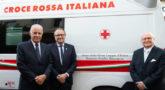 masoneria en italia dona ambulancia contra el coronavirus