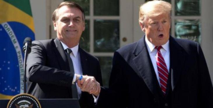 Trump y Bolsonaro fanáticos