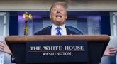 Estados Unidos suma 50.000 fallecidos mientras Trump hace el ridículo ante el mundo