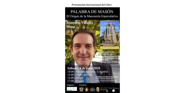 Presentación del libro Palabra de Masón de Joaquim Villalta