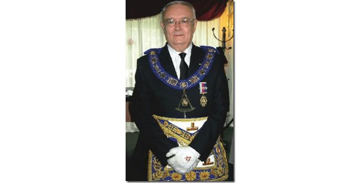 José Carretero Domenech, Pasado Gran Maestro de la Gran Logia de España