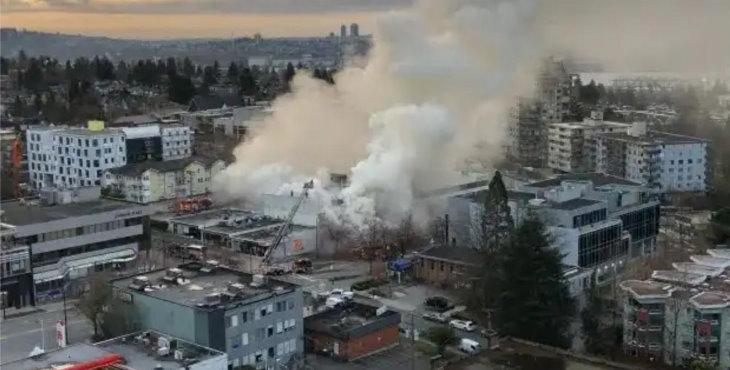 Un hombre es arrestado tras provocar incendios en tres logias masónicas en Vancouver
